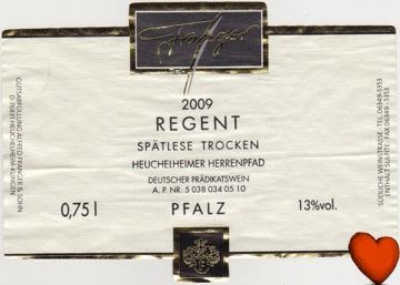 franger-regent-spaetlese-2009