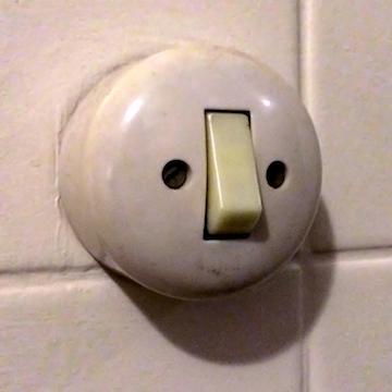 Lichtknop-gezicht